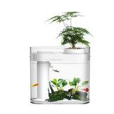 Beschreibende Geometrie C200 Amphibious Ecological Viewing Aquarium 5W Intelligente Steuerung Stummschaltung Energiesparende Smart-Version