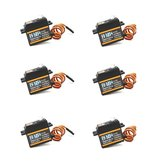 6PCS Emax ES3054 17g 3.5kg 0.13sec Metal Gear Digital Servo For RC Airplane (ES3154 Upgraded Version)