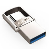 EAGET CU20 USB3.0 Type-C Pendrive USB OTG Type C 16GB 32GB 64GB Kovová USB Flash Dvojitá zástrčka