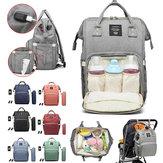 Vodotěsné dětské pleny na plenky Tašky Tote Mummy Travel USB Port Backpack
