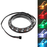 Striscia magnetica Coolmoon 40cm RGB LED con 30 pezzi LED per PC desktop