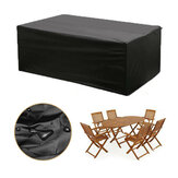 600D Poliestere Furniture Cover Waterproof Table Chair PVC Protector Cover Outdoor Garden Patio