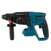 1100W Electric Hammer Cordless Handheld Brushless Impact Hammer Drill For 18V Makita Battery
