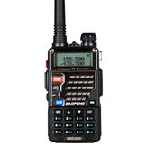 BAOFENG UV-5R 3ª geração 5W 128 canais 400-480 MHz Backlight Screen Dual Banda Two-Way Walkie Talkie Driving Civilian Intercom