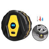 Inflador de pneu digital elétrico 12V 120W com compressor de bomba de ar de carro leve LED Insuflação super-rápida Parada automática de carga para acessórios de direção em viagens ao ar livre