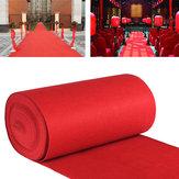 10mt/15mtVIP Roter Teppich Läufer Party Dekoration Hochzeit Gang Boden Einweg Eingang Szene Teppich