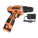 16.8V 2 Speed Cordless Power Drill Electric Screwdriver 32Nm Torque 3/8 Inch Keyless Drill Chuck W/ 1 or 2 Li-ion Battery