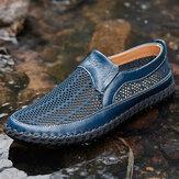 Erkek Hasır Kumaş Rahat Kaymaz Soft Sole Outdoor Rahat Ayakkabılar