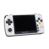 Pocket Go V2 512MB DDR2 144GB Upgraded Retro Video Game Console 3.5 Inches IPS Screen Portable Handheld Game Player PS1 SNES NPG