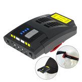XANES® K150 USB ricaricabile LED Potenza lampada frontale per bici Display Clip per cappuccio a induzione 5 modalità Ciclismo TORCIA Faro anteriore