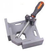 Aluminum Single Handle 90 Degree Right Angle Clamp Angle Clamp Woodworking Frame Clip Right Angle Folder Tool