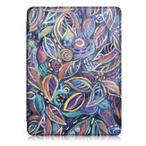 Printing Tablet Case Cover for Kindle Paperwhite4 - Leaves