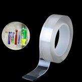 1/3 / 5M Nano PUゲル両面トレースレステープ透明粘着テープ