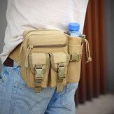 Men Multifunction Tactical Belt Bag Casual Sling Crossbody Bag Waist Bag