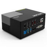 Wavli<x>nk Hub Docking Station Multifunzionale USB3.0 a DVi HDMI Audio RJ45 Porta Gigabit Ethernet