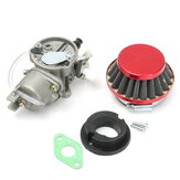 Carburetor Carb Air Filter Assembly For 47cc 49cc Mini Moto ATV Dirt Pocket Bike
