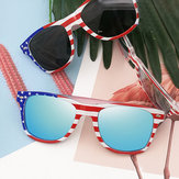 Unisex Patriotic Polarspex Polarized 80's Retro Trendy Stylish Sunglasses