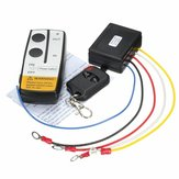15m / 50ft verricello in out kit interruttore del telecomando senza fili per camion jeep ATV SUV 315MHz 12v
