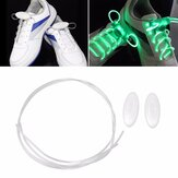 1 Par LED Bestselling 80 CM Flash Luminosa Moda 6 Cor De Fibra De Vidro Sapato Laces para Festa de Patinação Correndo Disco Light Up Glow Nylon Strap