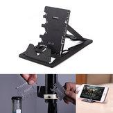 IPRee® 3 en 1 EDC Mini Cortador de tarjetas Plegable multifuncional Soporte para teléfono Soporte Abrebotellas herramienta Kits