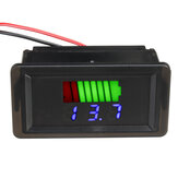 12 V-60 V Su Geçirmez LED Dijital Voltmetre Gerilim Metre Batarya Araba Deniz Motosiklet Için Ölçer