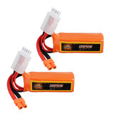 2 unidades URUAV GRAPHENE 3S 11,4V 300mAh 100C HV Lipo Bateria XT30 Plugue para FPV RC Racing Drone