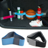 20-80cm Elastisk Oxford Car Trunk Fixed Strap Sund Stowing Tidying Strorage Belt Magic Tape