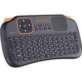 VIBOTON S1 Mini 2.4GHz Wireless Smart Keyboard Air Mouse per Mini PC Android TV HTPC