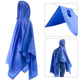 Raincoat Adult Conjoined Raincoat Outdoor Multifunctioneel Three In One regenjas-blauw