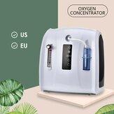 Oksijen Konsantratörü Makinesi 1-6L / dak Batarya Olmadan Ev ve Seyahat Kullanımı için Ayarlanabilir Taşınabilir Oksijen Makinesi