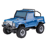 URUAV 1/24 4WD 2.4G Mini RC Car Crawler Model Wodoodporny RTR