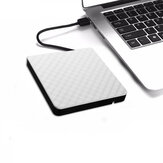 Externe USB 3.0 DVD RW CD-brander Slanke Carbon Grain Drive-brander Reader-speler Voor pc Laptop Optisch station