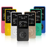 Mahdi M280 8GB 1.8 Inch TFT Tela Protable MP3 MP4 Player de música Suporte FM TF Card