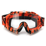Motorcycle Motocross Off Road Equitação Esportes Snowboard Goggles Transparent / Coloful Len