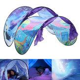 90.55X31.5inch Outdoor Nylon Adventure Pop Up Bed Opvouwbare kinderen Dream Tent Kinderen Playhouse