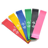 6PCS Resistance Bands Power Strength Exercise Fitness Gym Cr