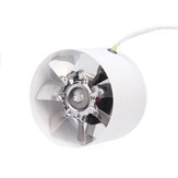 4 Inch 100mm Inline Duct Fan Hydroponic Extractor Vent Booster Air Exhaust Blower