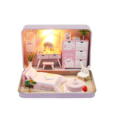 Hoomeda DIY Doll House Romantic Theatre Kid Girl Gift S932