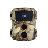 PR600C 12MP 1080P 130 ° Natvision Jagtkamera 0,8s Trigger Time Recorder Wildlife Trail Camera for Home Security and Wildlife Monitoring