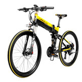 [EU Direct] LANKELEISI XT750 10.4Ah 48V 400W Moped Electric Bike 26 Inches Smart Folding Bike 35km/h Max Speed Max Load 180kg With EU Plug