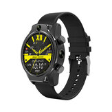 [Face Unlock] Rollme S08 True IP68 Waterproof Cerâmico Moldura 8MP Câmera dupla 4G Smart Watch 3G + 32G GPS Glonass 3560mAh Bateria Watch Phone