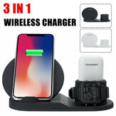 Bakeey 3 in 1 Wireless Charger Station Charging Dock Stand for Samsung Galaxy Note S20 ultra Huawei Mate40 OnePlus 8 Pro