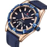 NAVIFORCE 9118 Waterproof Calendar Casual Men Wrist Watch
