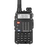 BAOFENG BF-F8 8 W UV Çift Band İki yönlü Radyo El Walkie Talkie 128 Kanal 400-520 MHz El Feneri Outdoor Yürüyüş Sivil İnterkom