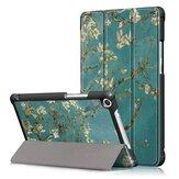 Abricot Blossom Tri Fold Couverture pour 8 pouces Huawei Honor 5 8 pouces Tablette