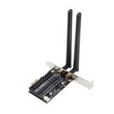 Dual Banda 2400Mbps Adaptador Wifi PCI-E sem fio para PC de mesa com Intel Wi-Fi 6 AX200 bluetooth 5.0 802.11ax / ac 2.4G / 5G Card