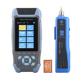 FF-980REV Pro mini OTDR Fiber Optic Reflectometer 980rev with 9 Functions VFL OLS OPM Event Map 24dB for 64km Fiber Cable Ethernet Tester