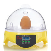 Automatische Egg Hatcher Clear Digital Chicken Duck Bird 7 Egg Incubator Hatcher Househould