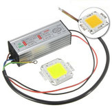 Bulbo da microplaqueta do poder superior 50W LED SMD com fonte impermeável DC20-40V do motorista