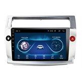 9 pouces 2Din Android 9.1 voiture stéréo Radio lecteur multimédia Quad Core 1 + 16G WIFI GPS Navi FM pour citroën C4 C-Triomphe C-Quatre 2004-2009